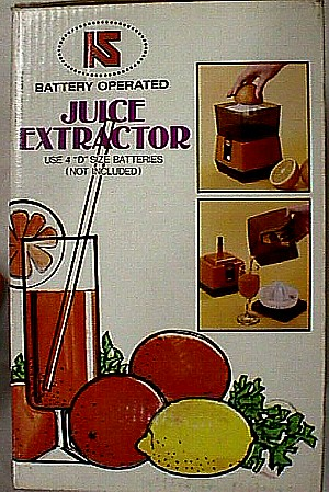 Battery Operated Juice Extractor Jack Berg Sales
