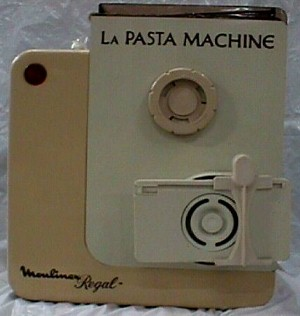 Moulinex Regal La Pasta Machine Jack Berg Sales