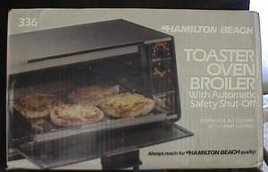 hamilton beach 336 toaster oven broiler jack berg sales. Black Bedroom Furniture Sets. Home Design Ideas