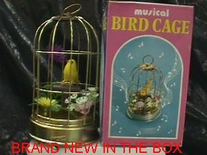 Beautiful Musical Bird Cage Music Box Jack Berg Sales