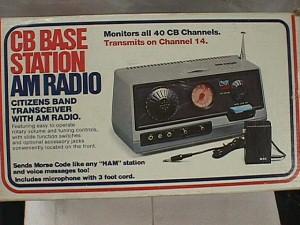 CB Base Station with AM Radio - Jack Berg Sales