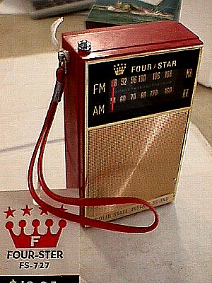 Four Star FS 727 AM/FM Pocket Radio - Jack Berg Sales