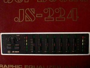 Jet Sound JS-224 Graphic Equalizer/ Amplifier for Car ...
