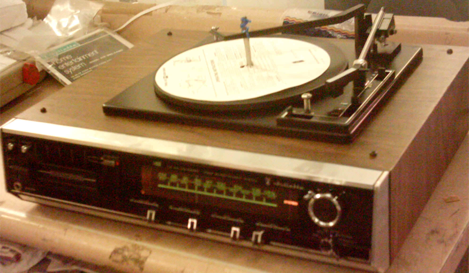 Juliette 8tr 1880 C4320 Am Fm Stereo 8 Track With Three