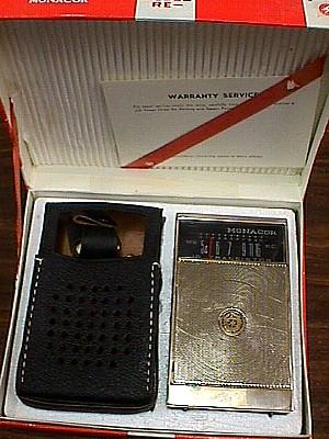 Monacor Re10 Transistor Pocket Radio Jack Berg Sales