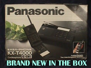 Panasonic Kxt4000 Easa Phone Cordless Telephone Jack Berg