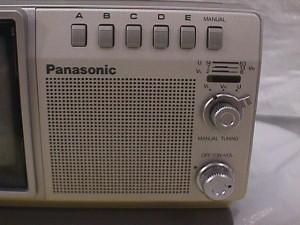 Panasonic Tr 4030 4 Inch Black And White Television Set