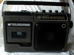 How Much Is Sales Tax In Texas >> Samsung AM/FM Portable Radio Cassette Recorder - Jack Berg ...