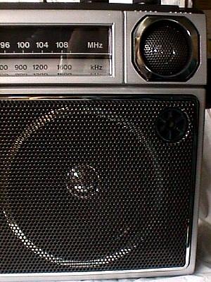 Sanyo M2563 Am Fm Portable Cassette Tape Recorder Jack