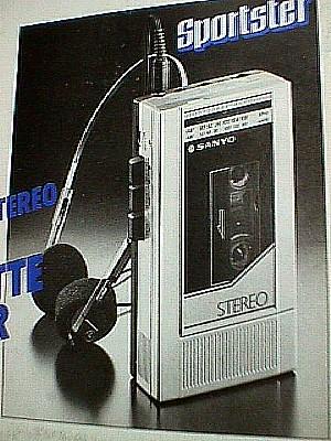 Sanyo Sportster M G27 Am Fm Stereo Radio Cassette Walkman