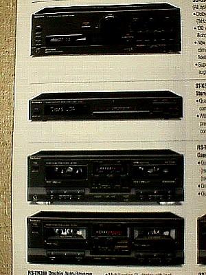technics sc 3200 100 watt stereo home audio unit jack. Black Bedroom Furniture Sets. Home Design Ideas