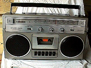 How Much Is Sales Tax In Texas >> Toshiba RT 2140S Stereo Portable AM/FM Radio Cassette ...