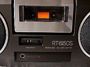 Toshiba Rt 8150s Stereo Portable Am Fm Radio Cassette