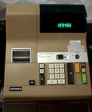 Unitrex Classic Cash Register Jack Berg Sales