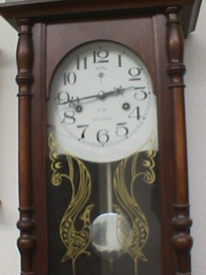 Beautiful Pendulum Wall Clock Jack Berg Sales