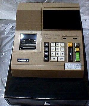Unitrex Electronic Classic Cash Register- Jack Berg Sales