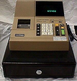 Unitrex Electronic Classic Cash Register Jack Berg Sales